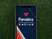 Fanatics Splash Screen