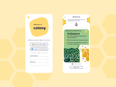 Colony App biodiversity sign in sign up colony pollinators beeapp bees