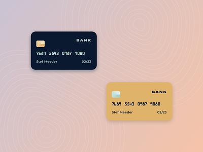 Credit Card UI credit chip credit cards ceditcardchallenge uichallenge rebound bankingapp banking ui creditcard