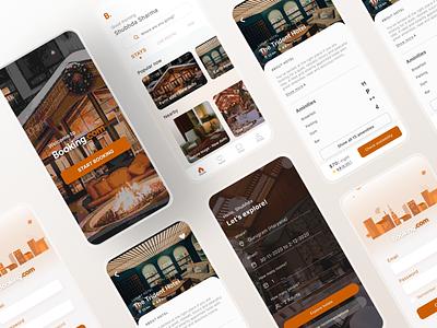 Booking app ui redesign concept app interaction design app design booking app redesign booking app figma ux uidesign interface design dailyui ui