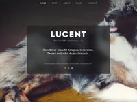 Lucent splash page