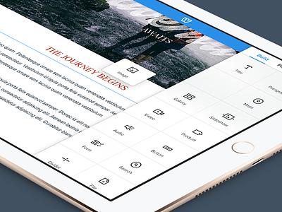 Weebly iPad App ipad app weebly design application drag and drop website web design icon