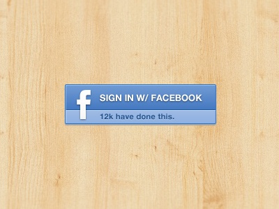 Sign In w/ Facebook