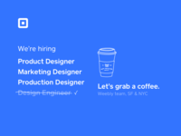 Join the Square team! nyc sf hiring designer production designer marketing designer product designer