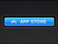 App Store Buttons - LS Light by Vitaly Odemchuk on Dribbble