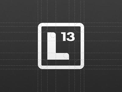 Luma13 Identity Construction identity logomark logotype construction luma13 lumaguard logo vector aluminum element