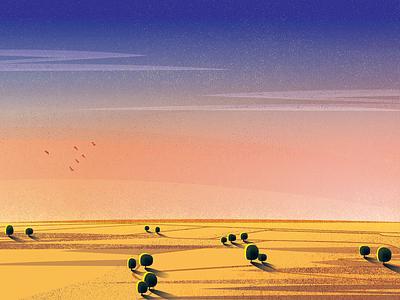 Utepils - Wheatbelt birds sky packaging agriculture farm landscape illustration design identity brewery branding beer australia