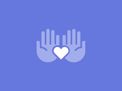 Cradled Care heart hands caregiver care health