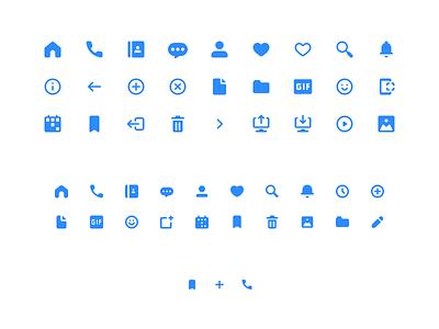 Happy Icon Family mobile ios desktop app pixel perfect icons