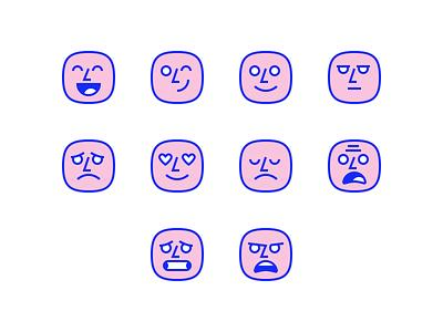 WEconnect Emoji illustration icon ui emoji addiction recovery weconnect emotions