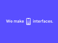We make interfaces.