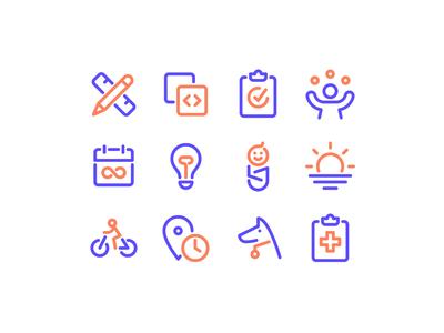 Jobs & Perks Icons