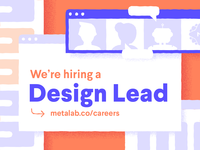 Design Lead Role