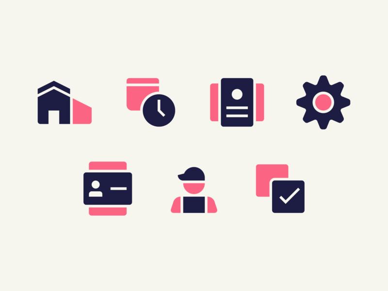Duotone Icons calendar tasks house settings desktop mobile ui app icons icon duotone