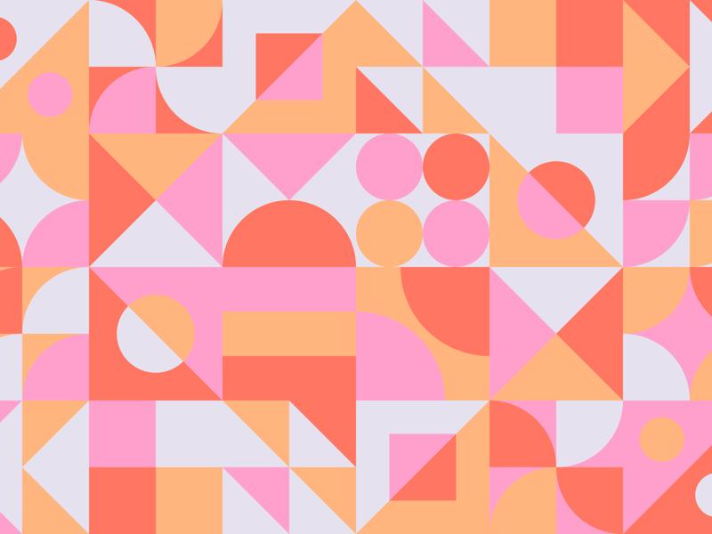 Shape & Color diamond square circle triangle pattern geometric color