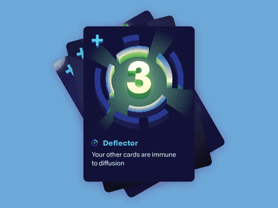 Control: Deflector illustration deflector keymaster time travel scifi card game tabletop