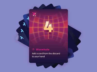 Control: Wormhole wormhole time travel illustration keymaster scifi game card tabletop