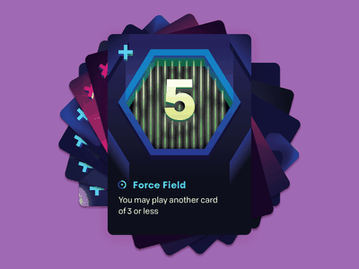 Control: Force Field field force illustration keymaster time travel scifi game card tabletop