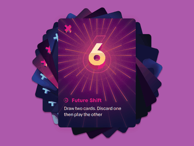 Control: Future Shift shift future time travel scifi keymaster illustration game card tabletop