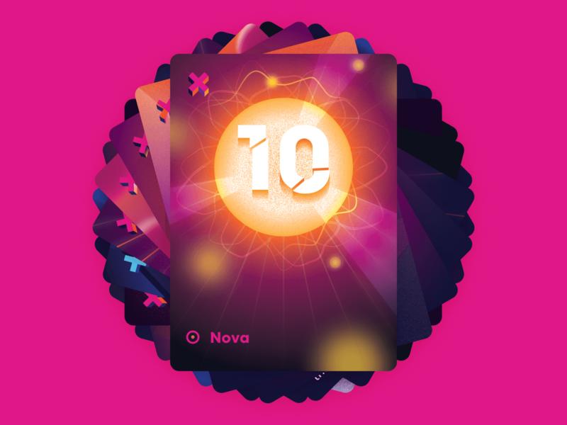Control: Nova supernova nova time travel scifi illustration keymaster card game tabletop