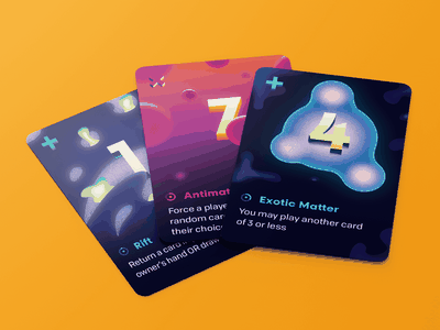 Control Cards illustration rift exotic antimatter keymaster scifi game card tabletop