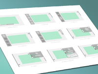 Wireframes for Transformation Station