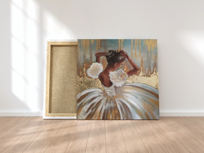 The Ballerina-Oil on canvas realistic painting realistic drawing realistic colors painting artist art passionate myart