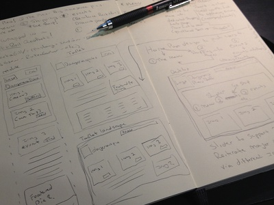 Home 1 sketch content web