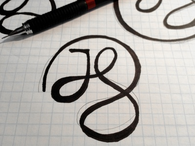 Jennifer 1 sketch letters logo