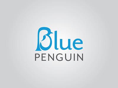 Blue Penguin (full) logo