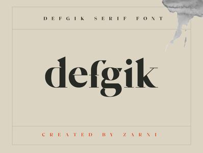 defgik serif font type serif font 2020 typorgraphy freefont font design typo font