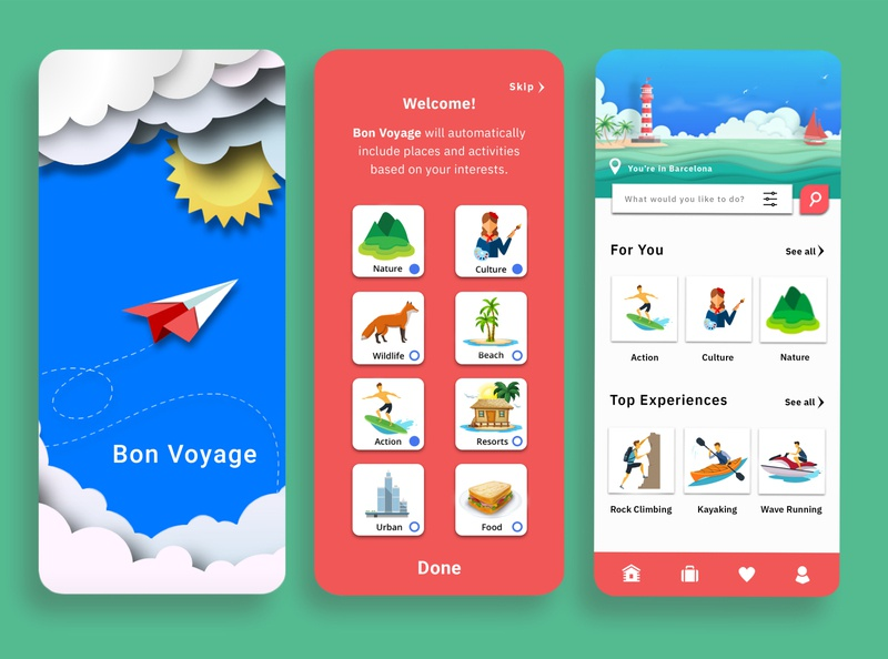 Travel Application icon traveling graphic design visual design mobile app travel app app illustration ux branding ui design