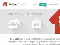 Referral Trade website