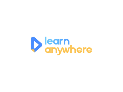 Learn Anywhere skooldio learn anywhere education technology icon idenity branding app logo