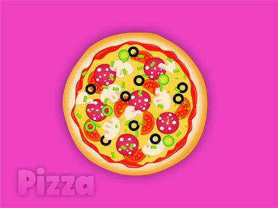 food-pizza-illustration