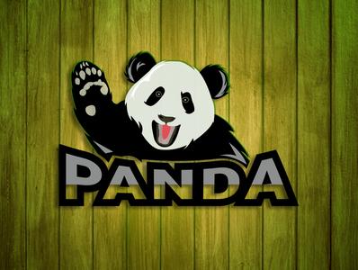 Panda mascot logo mascot design mascot logo logo design logo
