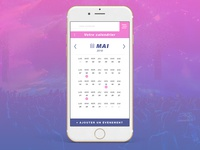 Calendrier app