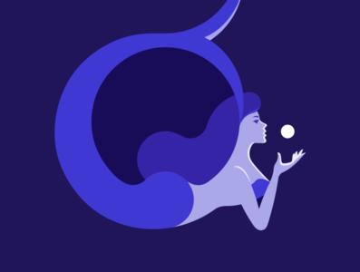 Mermaid cartoon graphic design design cartoon