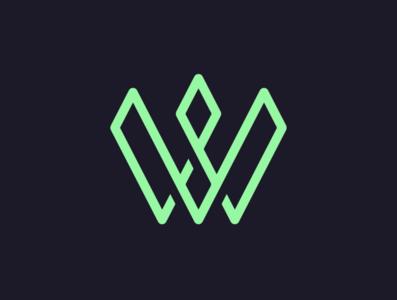 W Logo Design in illustrator - 6 typography icon drawing vector flat logodesign illustration logo design design illustrator