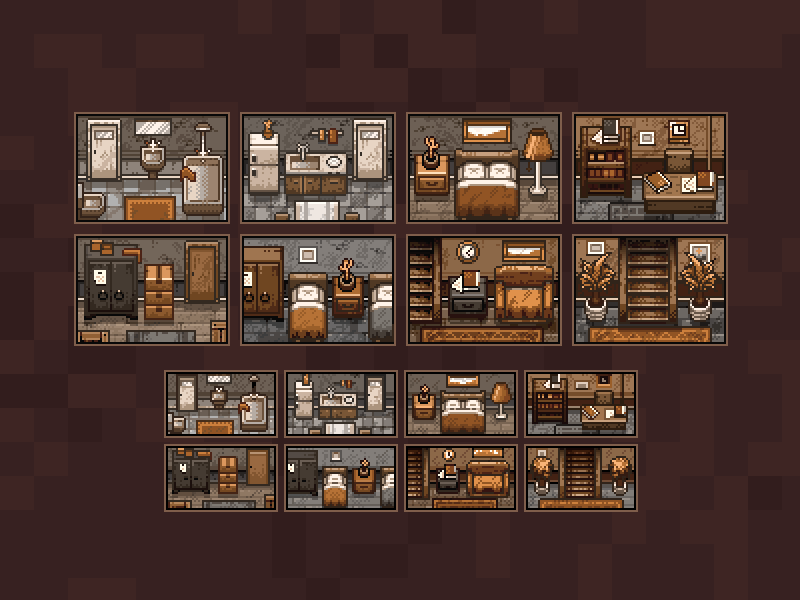 Detective Puzzles Rooms By Purple Juno Dribbble Dribbble