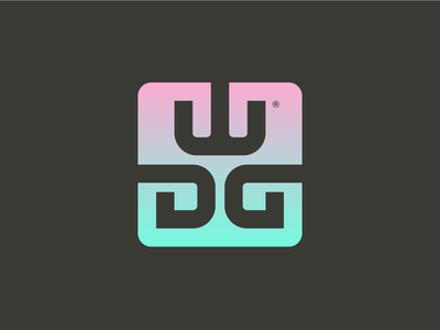 WDG branding illustration vector icon design logo