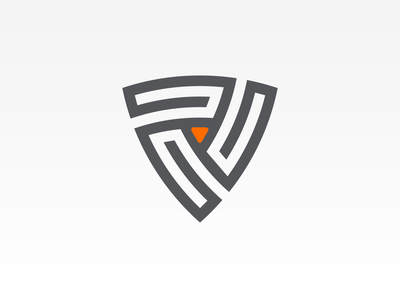 Ttriskelion triskelion branding illustration vector icon design logo