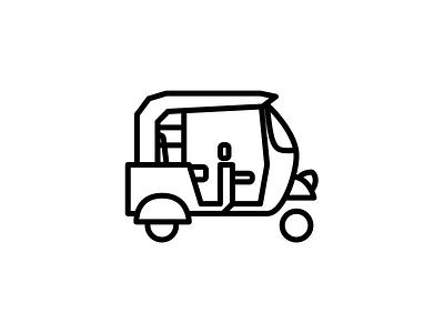 Tuktuk (wip) logo icon tuktuk