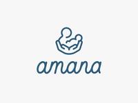Amana Logo Design