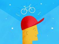 Biking on the Brain