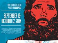 Godspell Theatre Poster