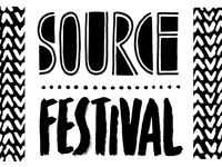 Source Festival logo and identity