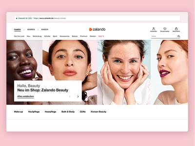 Zalando Designs Themes Templates And Downloadable Graphic Elements On Dribbble