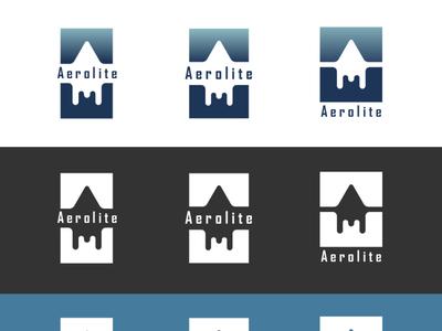 Aerolite - Daily Logo #1 rocketship logo aerolite logo dailylogochallange dailylogochallenge