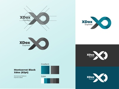 Xdox Letter Logo V2 - Daily Logo #4 vector marketing xdox marketing logo graphicdesign logo dailylogochallenge dailylogochallange